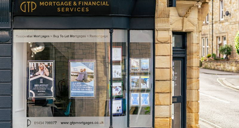 GTP Mortgage & Financial Services Storefront in Hexham
